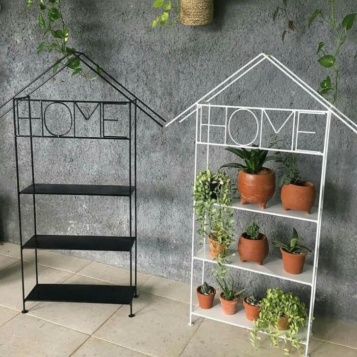 Jual Rak Bunga Minimalis Home Vas Bunga Plat Besi Minimalis Rumah Kab Kuningan Duakaki Shop Tokopedia