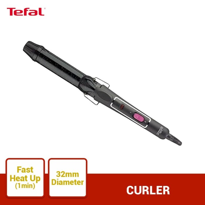 Foto Produk Tefal Curler 32mm Keratin & Shine HX3362 dari TefalKrups Official
