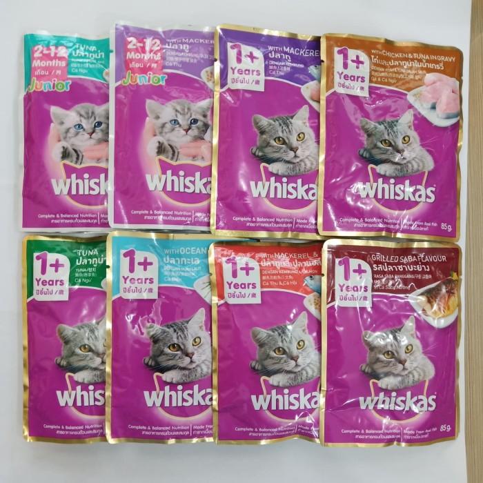 Foto Produk Cat food wiskas pouch/sasetan 85gr dari jepras pet