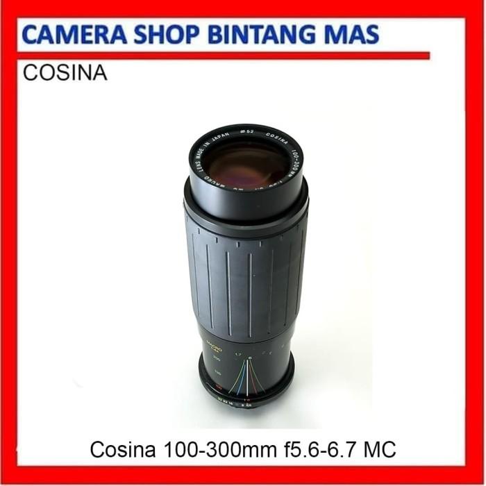 Foto Produk Cosina 100-300mm f5.6-6.7 MC Macro for Yashica Canon dari Camera Shop Bintang Mas