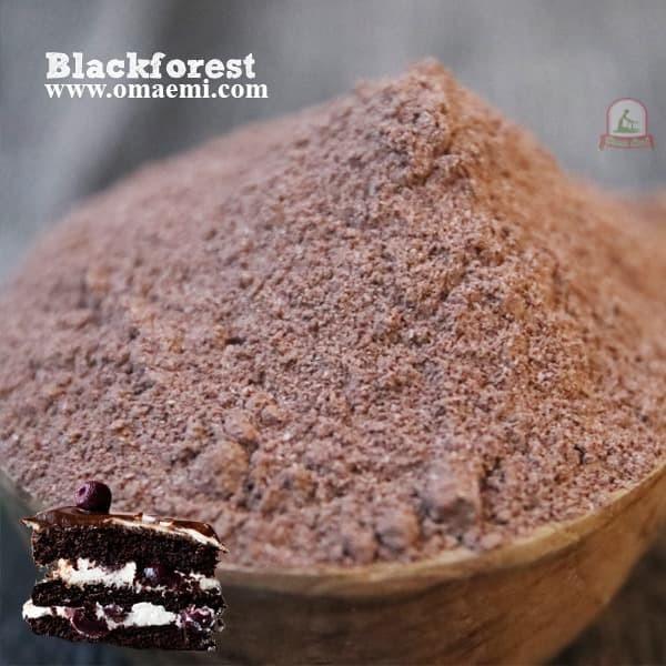 Foto Produk BUBUK MINUMAN BLACK FOREST KEMASAN 1 KG HALAL KUALITAS TERJMAIN dari OmaEmi