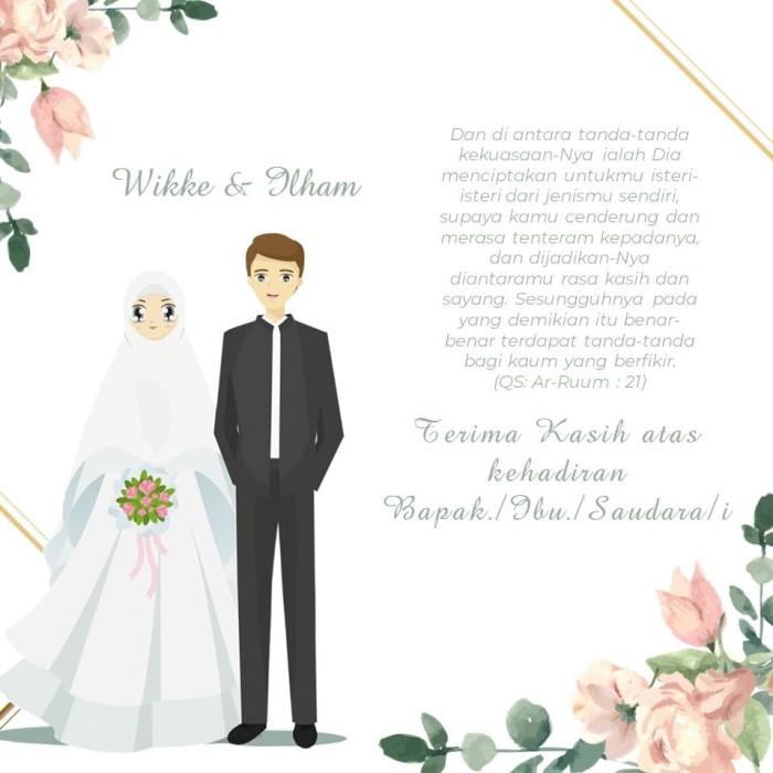 Jual Undangan Online Format Video Undangan Pernikahan Undangan