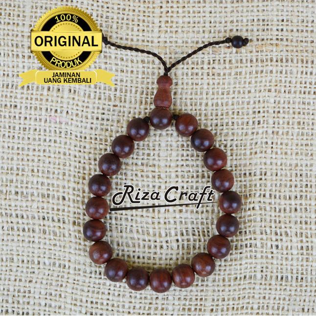 Foto Produk Gelang Kayu Galih Nagasari ASLI Cirebon ukuran 10mm dari Riza Craft
