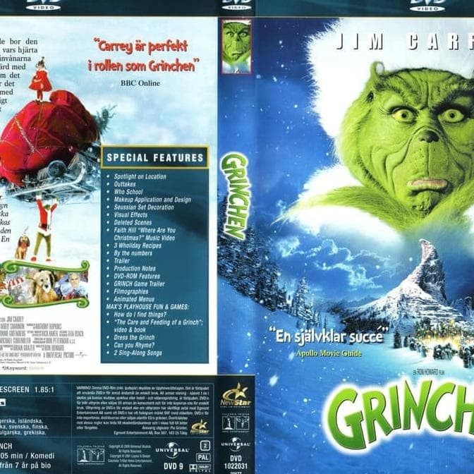 Jual Hot Sale How The Grinch Stole Christmas 2000 Dvd Movie Collection Film Jakarta Barat Zulfan Sandi Tokopedia