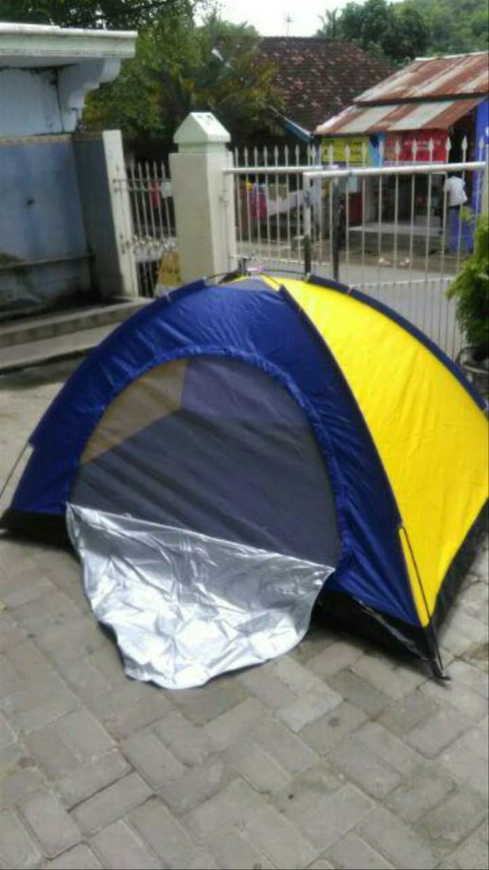 Jual Tenda Camping Kemping Dome Lipat 6 Orang Dengan Alas Tenda Kota Bandung Gibran Galery Baru