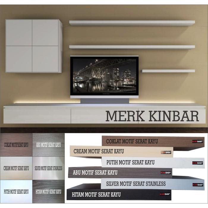 Foto Produk 60x10x4cm Rak Dinding/Ambalan/Melayang/Floating Shelf MERK KINBAR A400 dari Mega-Persada