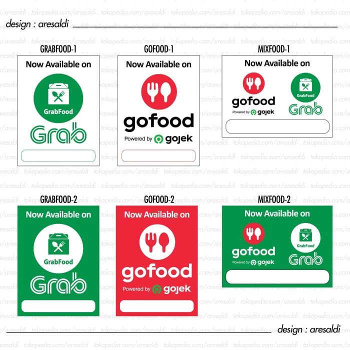 Contoh Spanduk Go Food Terbaru