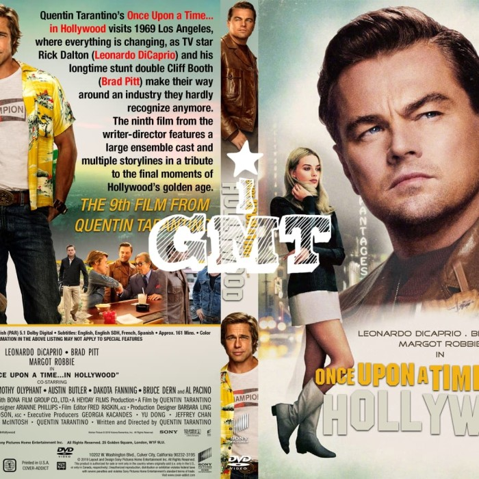 Jual Film Once Upon A Time In Hollywood 2019 1080p Dvd Film Flashdisk Kota Medan Gmt Indonesia Tokopedia