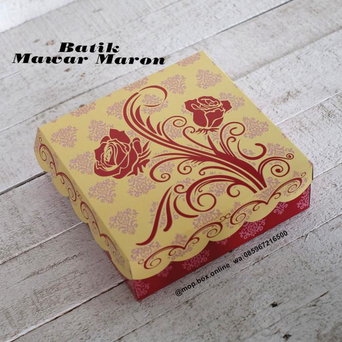 jual 50pcs dus nasi r8 batik mawar kotak nasi 18x18 box nasi merah kota surabaya mop box online tokopedia jual 50pcs dus nasi r8 batik mawar kotak nasi 18x18 box nasi merah kota surabaya mop box online tokopedia