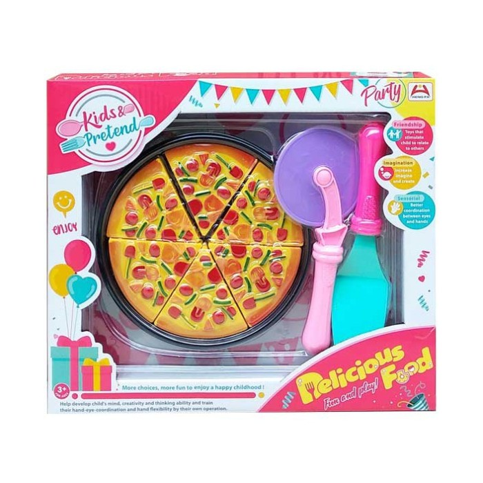 Jual Delicious Food 7650 6 Mainan Masak Masakan Pizza Hut Jakarta Utara Elbaby S Tokopedia