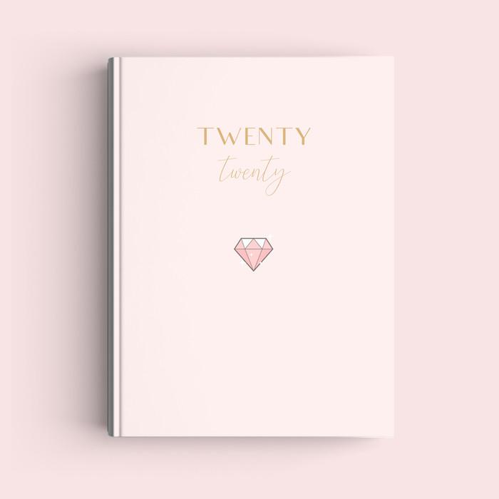Foto Produk Simple Notebook A5 - Diamond - Journal 2020   Planner - Bookpaper Polos dari The Book ID