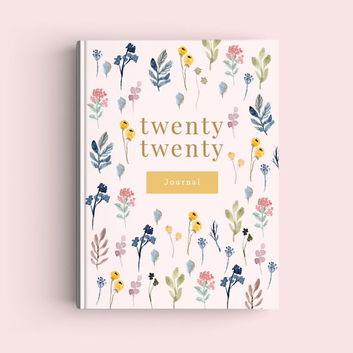 Foto Produk Notebook Custom A5 - Spring Flowers - Journal 2020 | Planner - Bookpaper Polos dari The Book ID