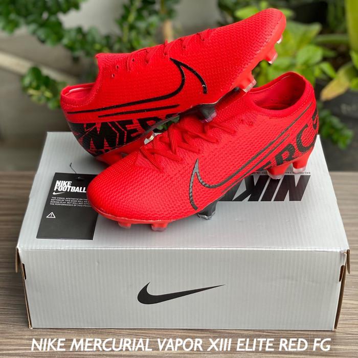 Jual Sepatu Bola Nike Mercurial Vapor Xiii Elite Red Fg Kota