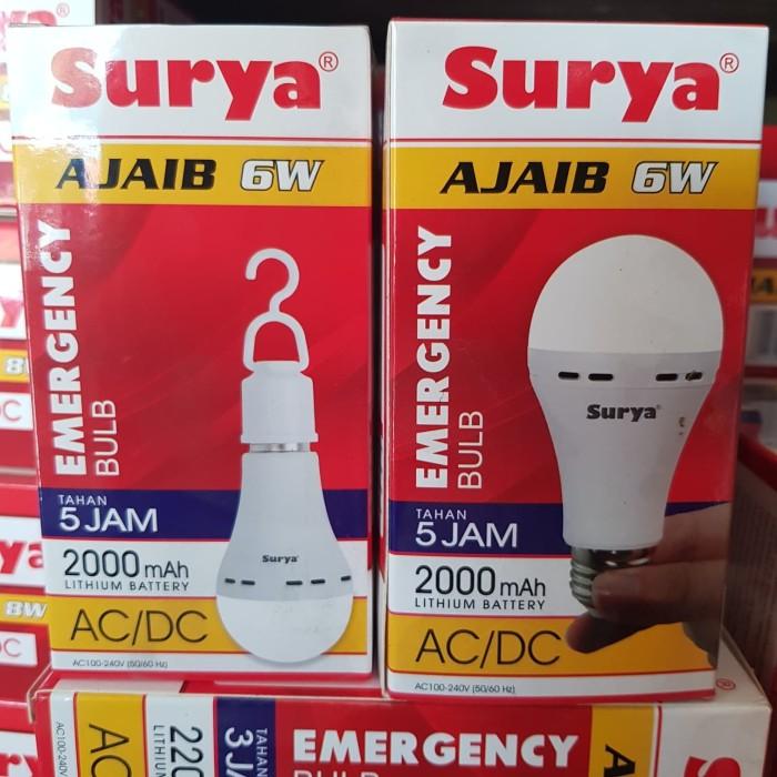 Jual Emergengi Led Magic Surya 6w Kab Bogor Smart Elektik Tokopedia