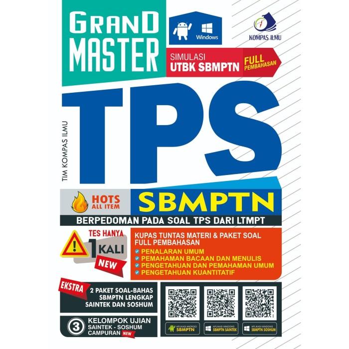Foto Produk GRAND MASTER TPS SBMPTN TERBARU TERUPDATE HOTS ALL ITEM dari Edu Penguin Kompas Ilmu