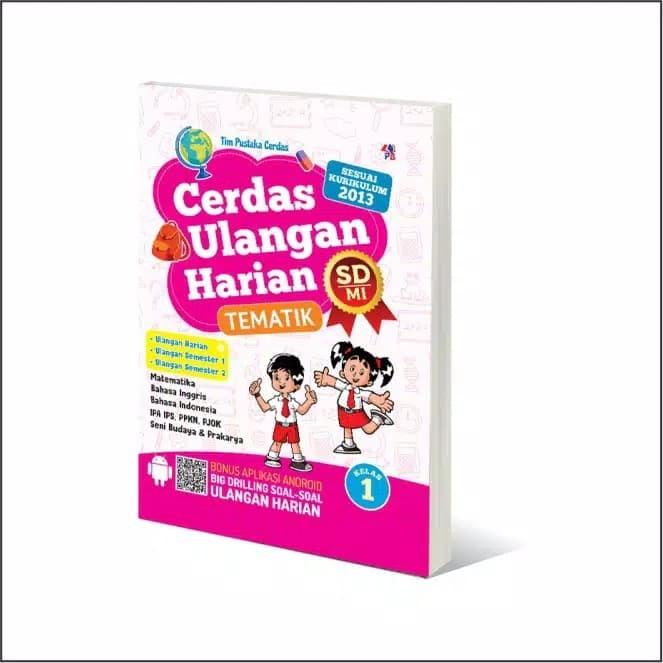 Jual Buku Cerdas Ulangan Harian Sd Mi Kelas 1 Cerdas Anak Dari Rumah Kab Bantul Pm Suwalayan 2015 Tokopedia