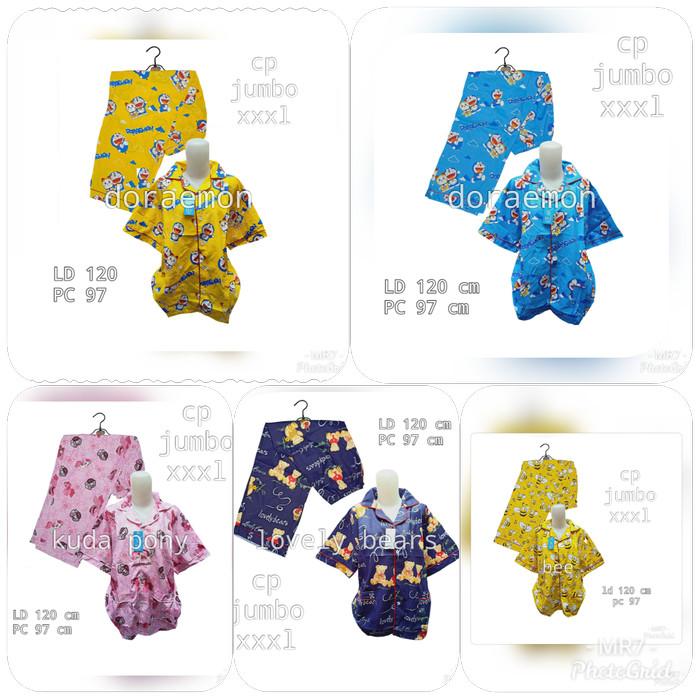 Foto Produk piyama jumbo / piyama katun jumbo / piyama katun dari MR Colection Bandung