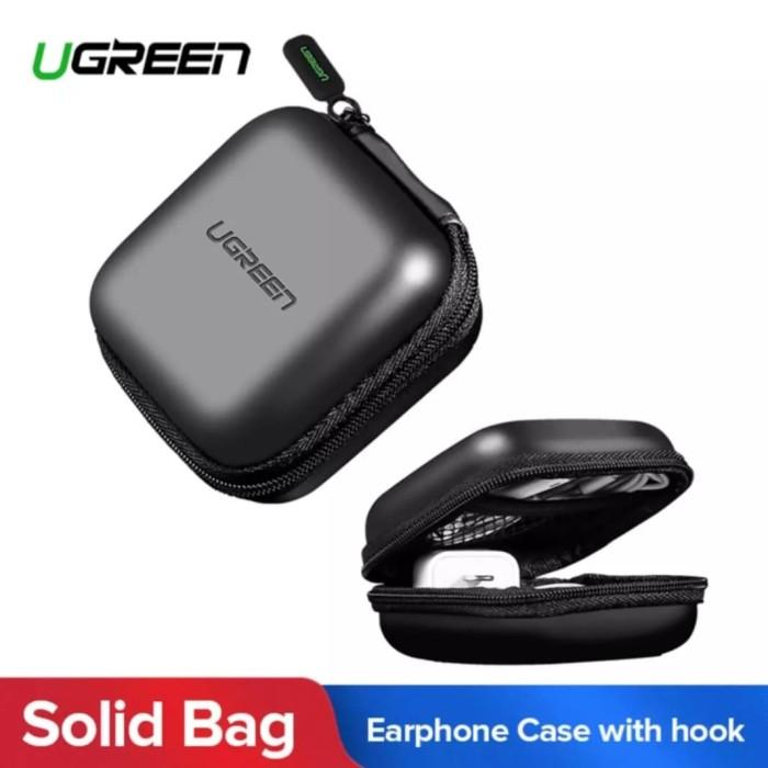 Foto Produk Ugreen Earphone Case Organizer Box Casing Charger Aksesoris Handphone dari Perlu Ada