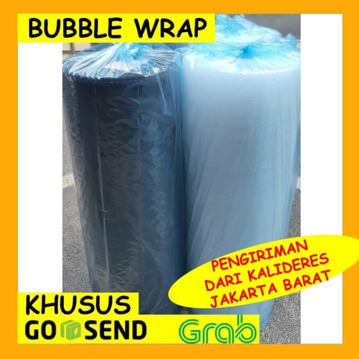 Foto Produk BUBBLE WRAP 125CM X 50M MURAH - PENGIRIMAN GOSEND / GRAB INSTANT ONLY - Bening dari Cheappack