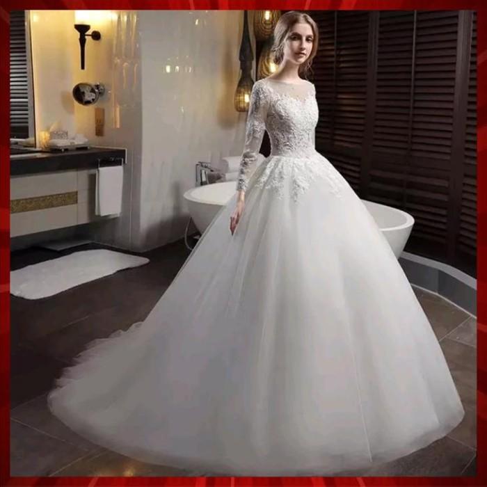 Jual Sale Custom Wedding Dress Jakarta Utara Rini Susil 30 Unik Tokopedia