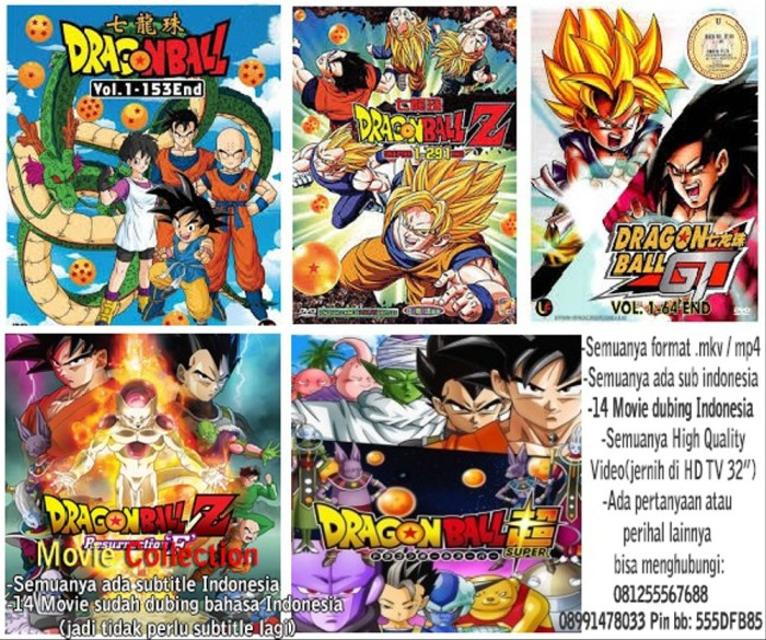 Jual Dvd Dragon Ball Complete Subtitle Indonesia Dubing