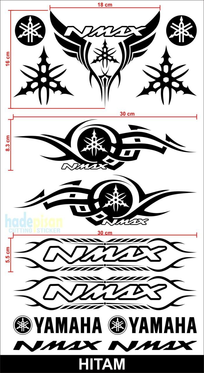 Stiker motor cutting sticker body motor yamaha nmax tribal