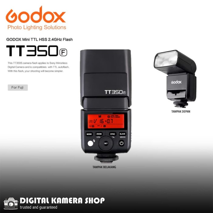 harga Bagikan : godox godox speedlite tt-350 i-ttl ii for fujifilm Tokopedia.com