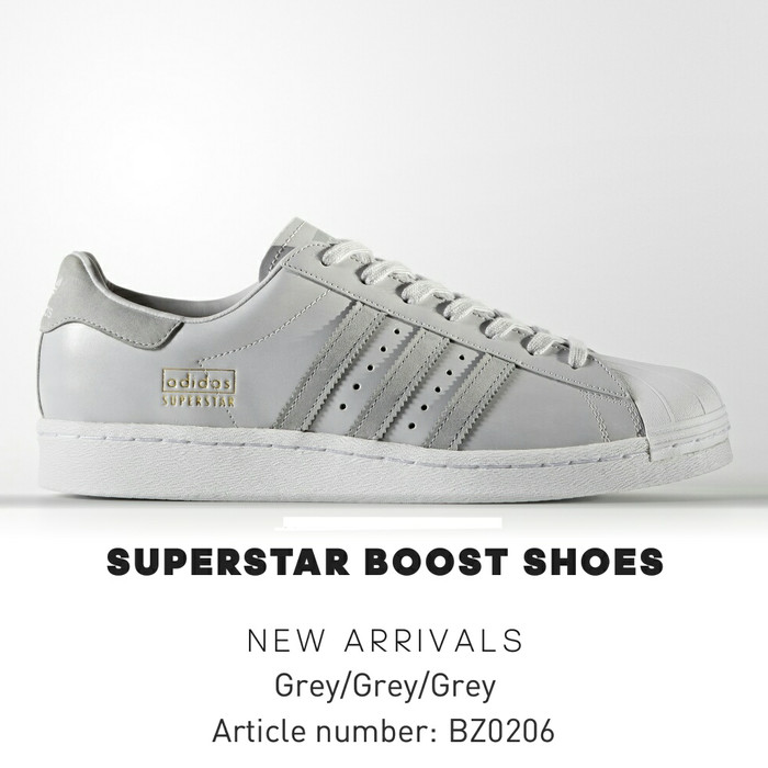 adidas superstar grey and black
