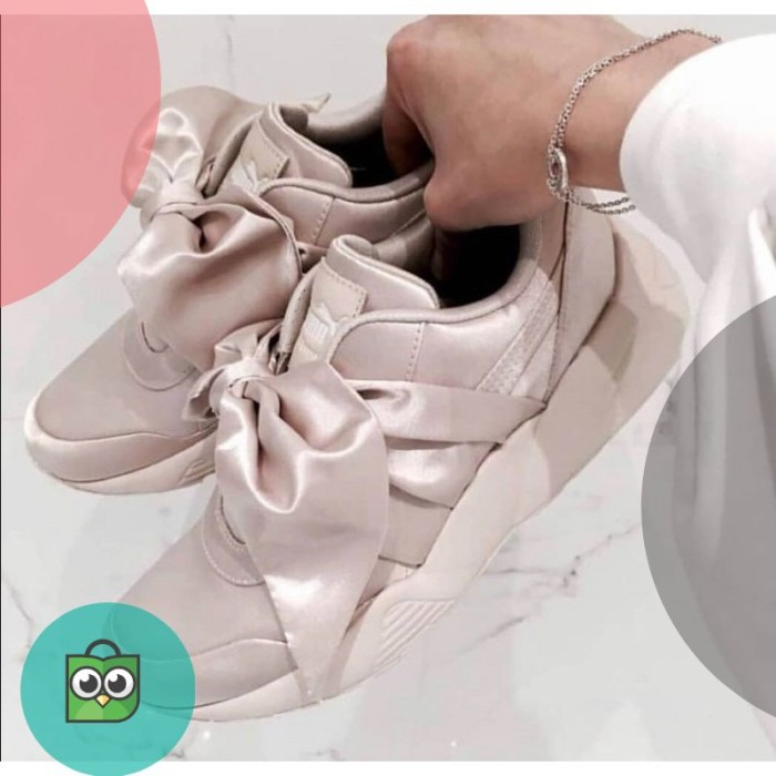 Jual Puma Bow Rihanna Premium Original   Sepatu Kasual   Sepatu ... 4bd8276882