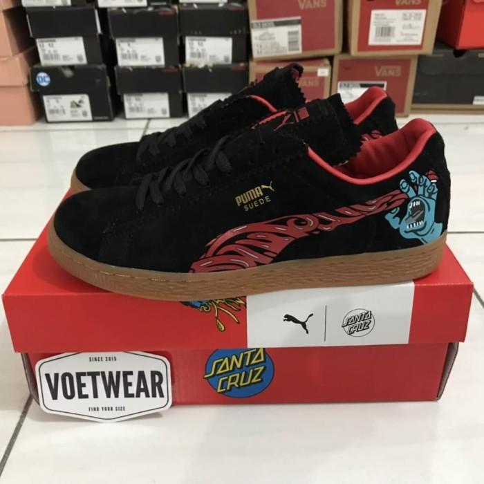 buy popular dcf24 2cc4d Jual Puma Classic Suede x Santa Cruz 50th Anniversary - Kota Bandung -  Voetwear Sneakers | Tokopedia