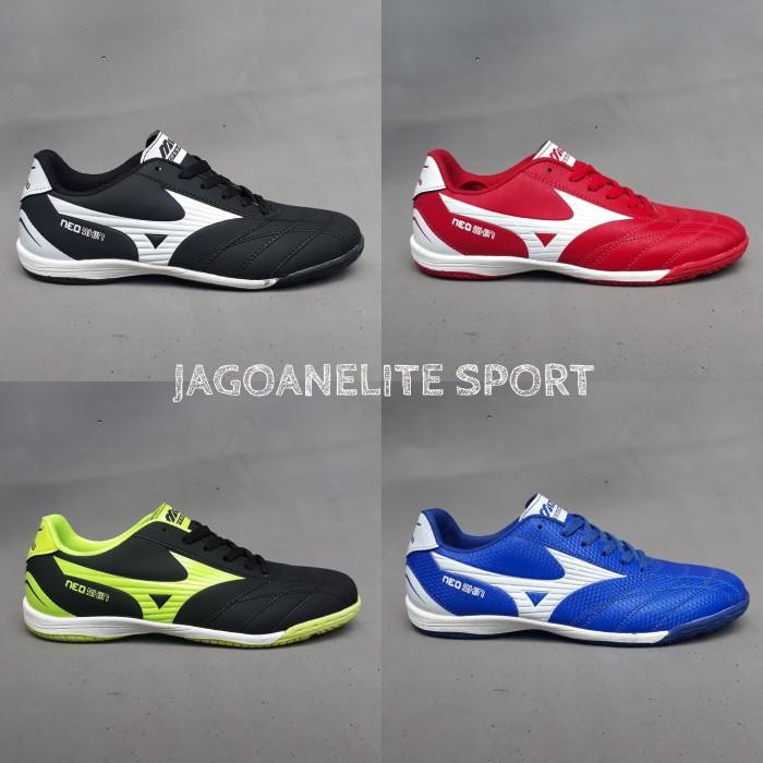 Jual Sepatu Tenis Meja dan Futsal Mizuno Professional Model - Hitam ... a4dc74827e