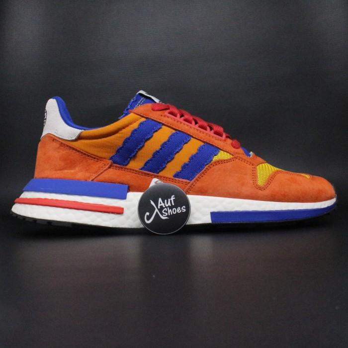 separation shoes 986ad aa647 Jual Sepatu Adidas X Dragon Ball Z ZX500 RM Goku 05 - Orange, 40 - DKI  Jakarta - AUF SHOES | Tokopedia