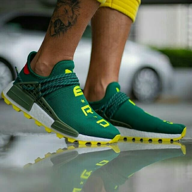 official photos 521e3 987db Jual ADIDAS NMD HUMAN RACE X NERD GREEN - DKI Jakarta - Crowded Sneaker    Tokopedia