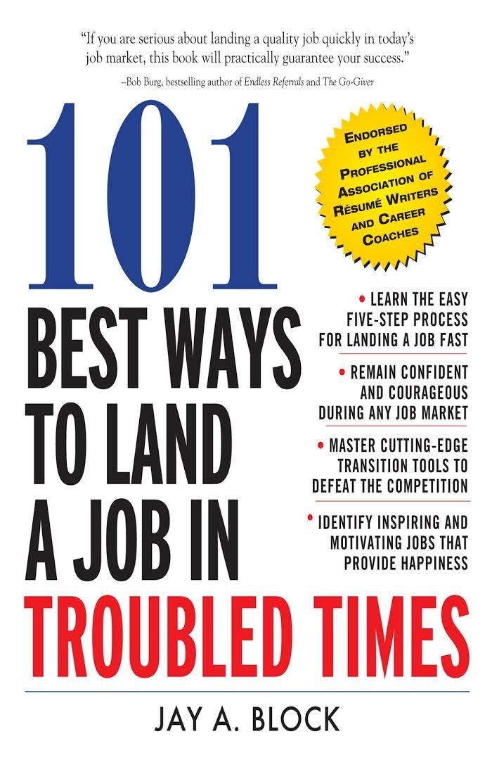 101 Best Ways to Land a Job in Troubled Times (eBook)