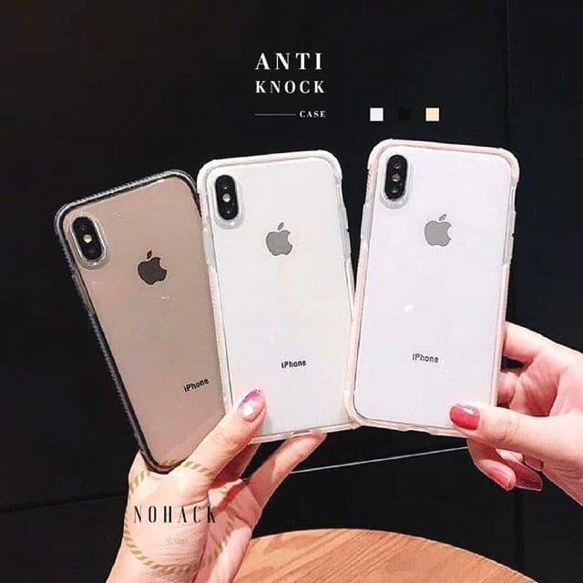 Foto Produk Anti Knock iphone 6 6S 6 6S+ 7 7+ 8 8+ X Xs MAX plus case crack ringke - BLACK dari Caseayangan ID