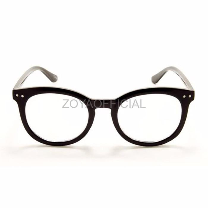 Optical Oval Clear Lens Glasses 1305 M Kacamata Pria - Daftar Harga ... bdf58fba6b