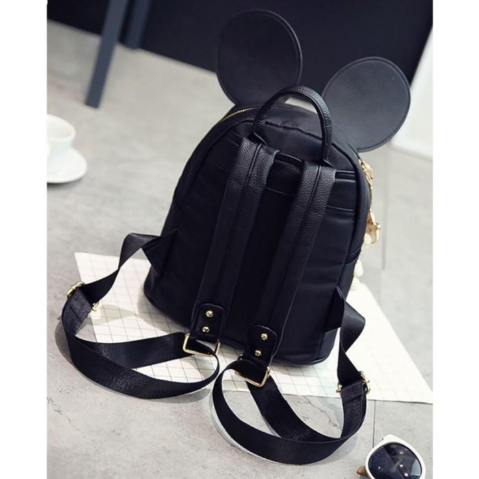 d8cebdaa2d Jual Cute Backpack Minnie Shape Female School Bag Nylon Kids Bag ...