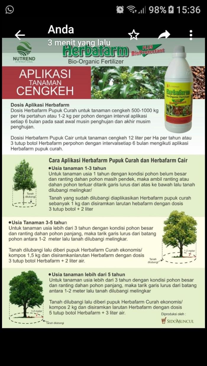 Jual Best Seller Herbafarm Pupuk Cair Bio Organik Jakarta Barat Rere Best Seller