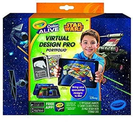 Crayola Colour Alive Virtual Design Pro Studio Fashion Collection Case Art Set Creative Toys Activities Creative Toys Activities Toys Games