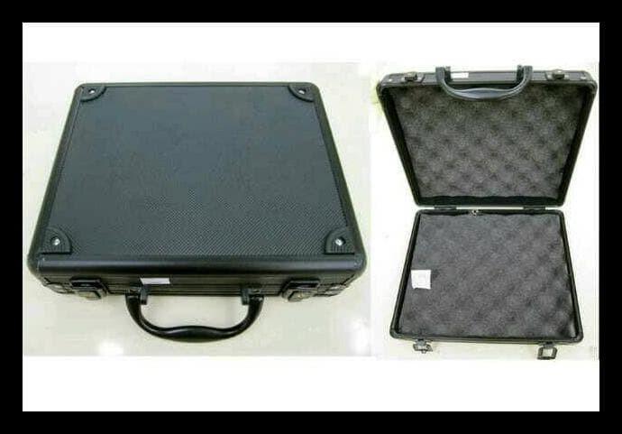Exclusive Koper Gbb Hardcase Alumunium Pistol Handgun Busa - Hitam