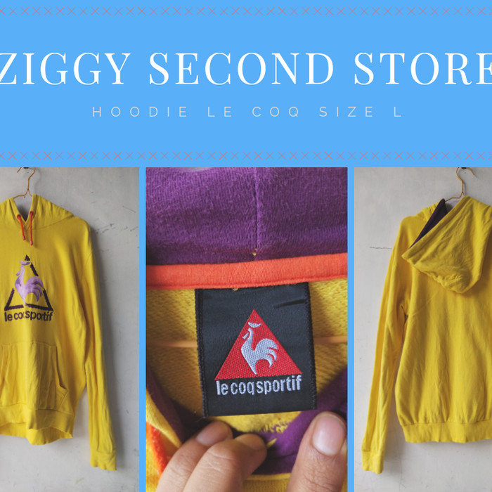 Foto Produk Second Hoodie Le Coq Sportif dari Everything 2ndhand