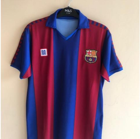 5e24c6190 Jual Jersey Barcelona 1982 Home 10 Maradona Meyba REPRO size Medium ...