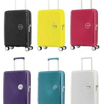 American Tourister Curio Koper Hardcase Size 20 Inch