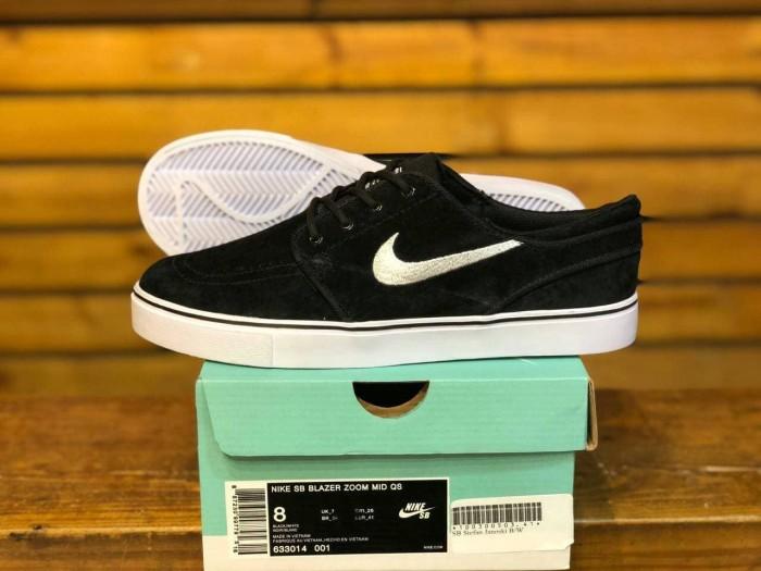 Jual Flash Sale Sepatu Sneakers Nike Stefan Janoski Black White Import Bnib Hitam Kab. Bandung sweetshop13 | Tokopedia