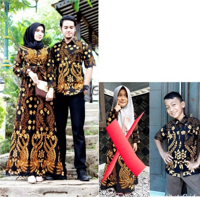 Jual Baju Batik Couple Gamis Batik Dan Kemeja Batik Anak 12 Terbaru Kota Pekalongan Aziz Shop973 Tokopedia