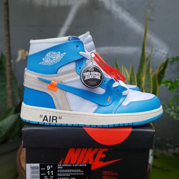 X TokojeckstoreTokopedia Nike 1 Air Selatan Off White Jual Authentic Jakarta Blue Jordan Unauthorized Sepatu Unc VGSMpqUz