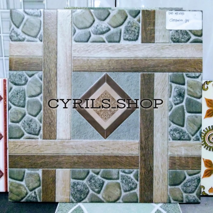 Jual Keramik Lantai Ukuran 40x40 Cocok Untuk Teras Dapur Dan Carport Kota Depok Cyrils Shop Tokopedia