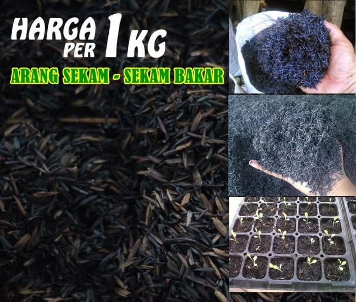 Foto Produk Media Tanam Pertanian Hidroponik Arang Sekam - Sekam Bakar 1kg dari Sarana Sukses Berkat