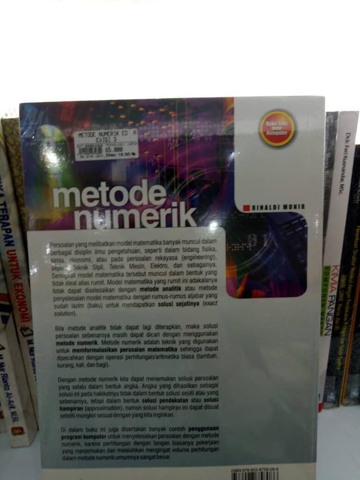 Ebook Metode Numerik Rinaldi Munir