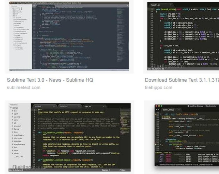 sublime text 2 download filehippo